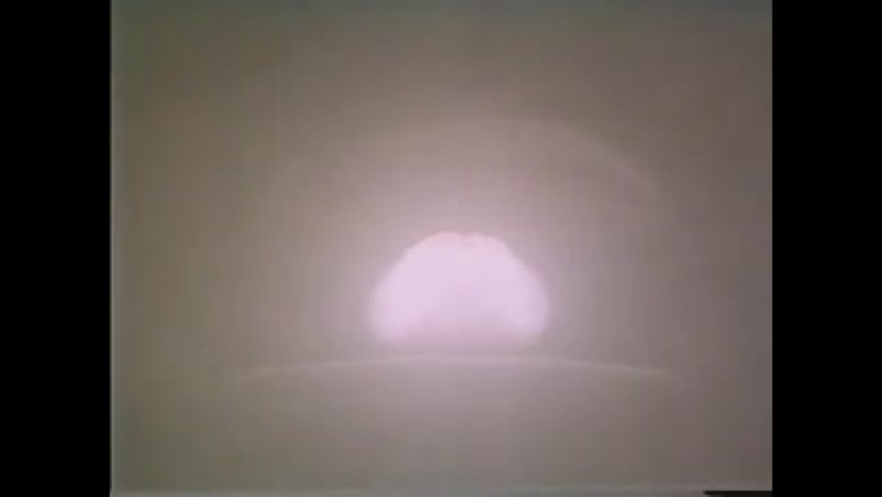 Испытания термоядерной бомбы РДС-37
