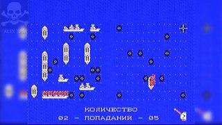 [Famiclone-50HZ]M-G1 Морской Бой - Gameplay (1/3)