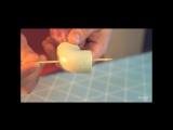 Как сделать сосиску на палочке