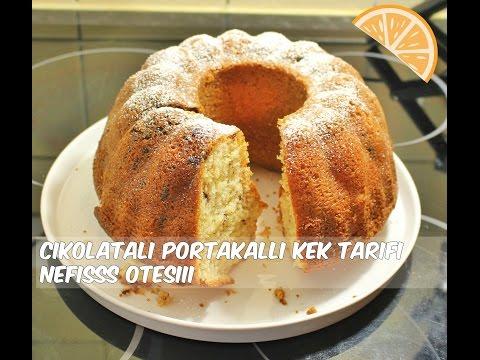 çikolatali portakalli nefisss kek tarifi