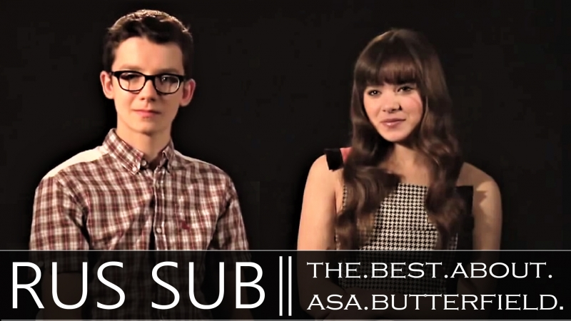 Hailee Steinfeld Asa Butterfield ENDER´S GAME Interview[1]