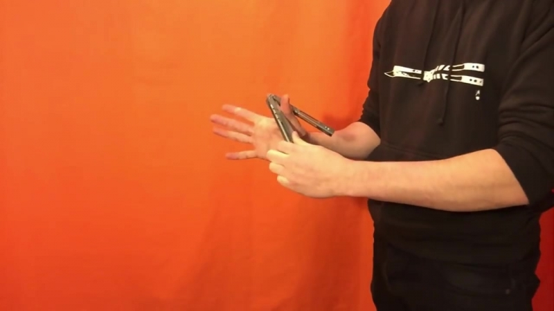 Balisong Tutorial - (Fluid Grab) - Advanced 11.5