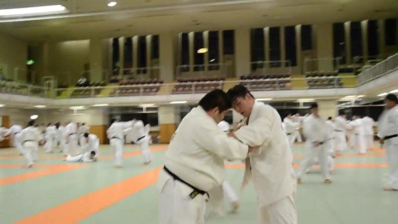 Кодокан Дзю до Институт Токио. Вечернее Рандори.