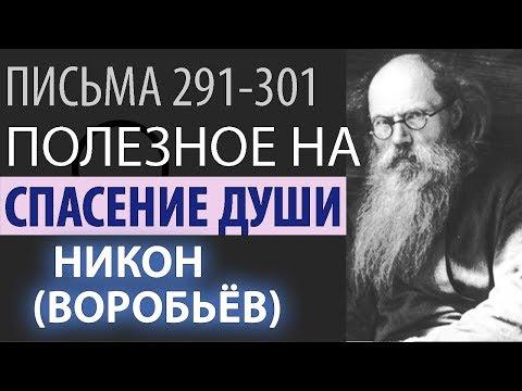 Без Смирения добро не угодно Богу! Никон (Воробьев). Письма 291-301