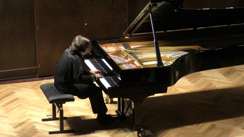 Бетховен. Соната № 8 («Патетическая») до минор, исп. Яков Кацнельсон (фортепиано)