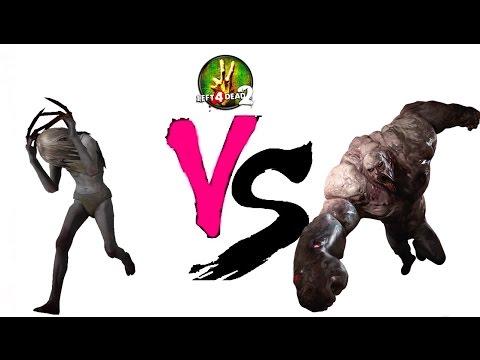 Left 4 Dead 2: Tank vs Witch