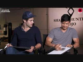 Shadowhunters Cast _ Harry Shum Jr. Matthew Daddario Play The Newlywed Game _