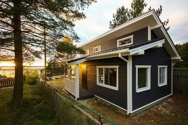 цены деревянных каркасных домов
