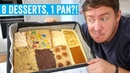 Tasty's '8 Desserts in 1 Pan' | MVK tries 7