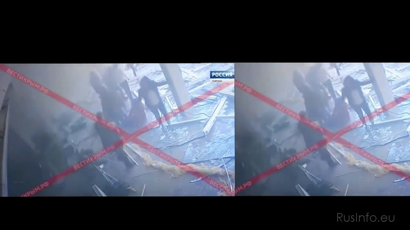 Видео нападения на Керченский колледж