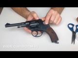 Обзор и стрельба_ Револьвер Наган СХП (РНХТ)