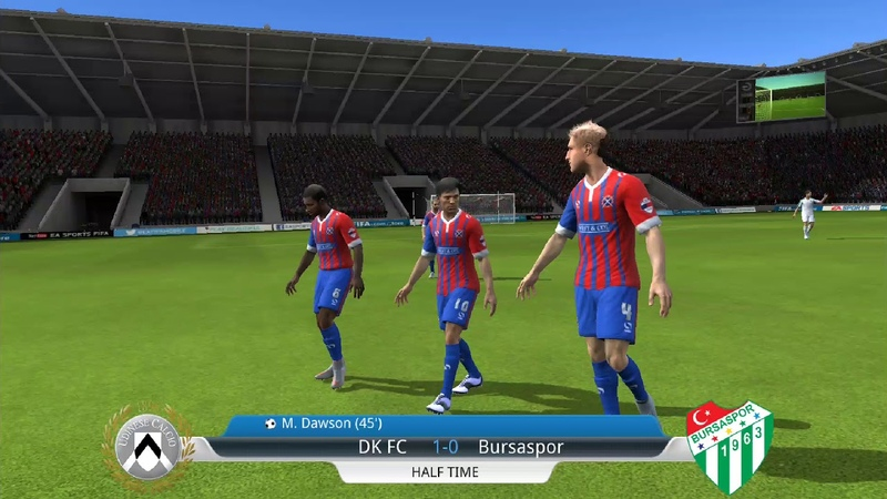 FIFA 16 ultimate IOS Android Replay Gameplay 1080p 103