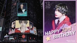 BTS V's Birthday Ad To Run At Times Square NYC For A Week, From December 23 To December 30