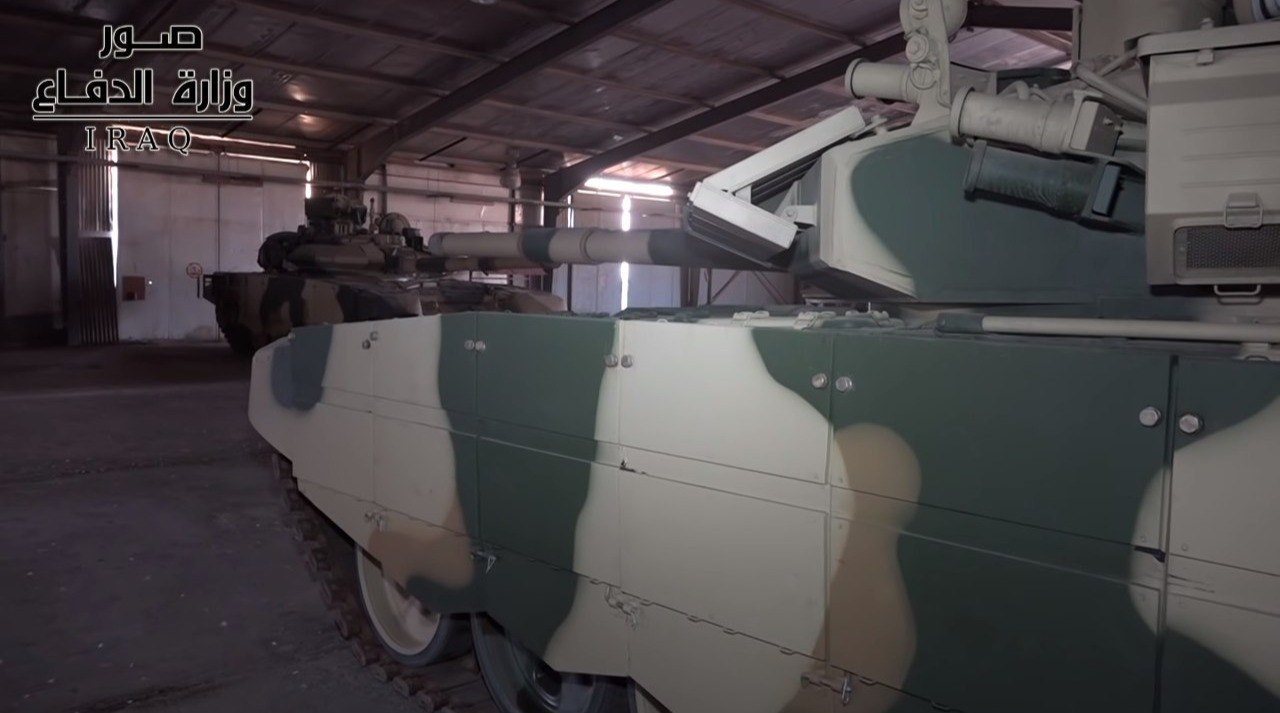 Иракская 35-я бригада перевооружена с танков М1А1М Abrams на российские танки Т-90С