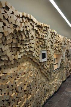 Дерево в оформлении интерьера, в дизайне стен.