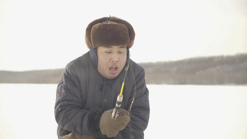 【野食小哥】東北往事之滑着爬犁去釣魚