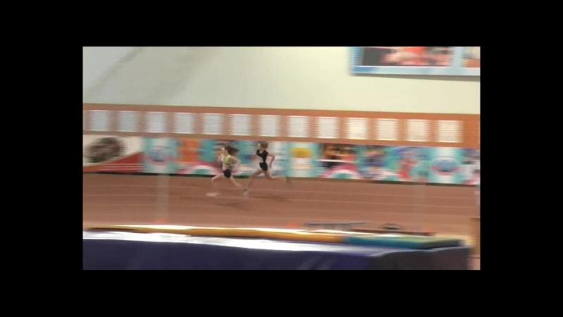 28 января Сидельникова Кристина Бег 200 м 27,2 3 место