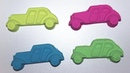 Learn and Play with Car sand pit toy and Kinetic Sand