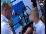 Александр Шлеменко дарит Омску новую спортивную площадку