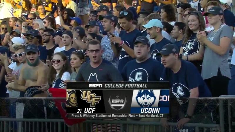 NCAAF 2018 Week 01 21 UCF Knights Connecticut Huskies EN