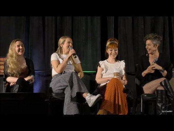 SpnPitt 2018 Rachel Miner Ruth Connell Kim Rhodes and Briana Buckmaster FULL Panel Supernatural
