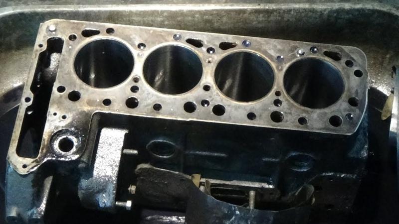 Хонингование в зеркало двигателя Мерседес ОМ 615 для Победы