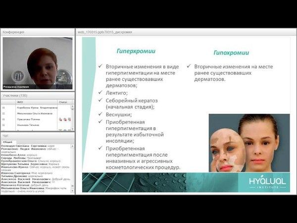 Дисхромии кожи - гипер и гипопигментация, способы их коррекции