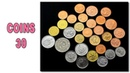 Нумизматика - 30 монет из AliExpress