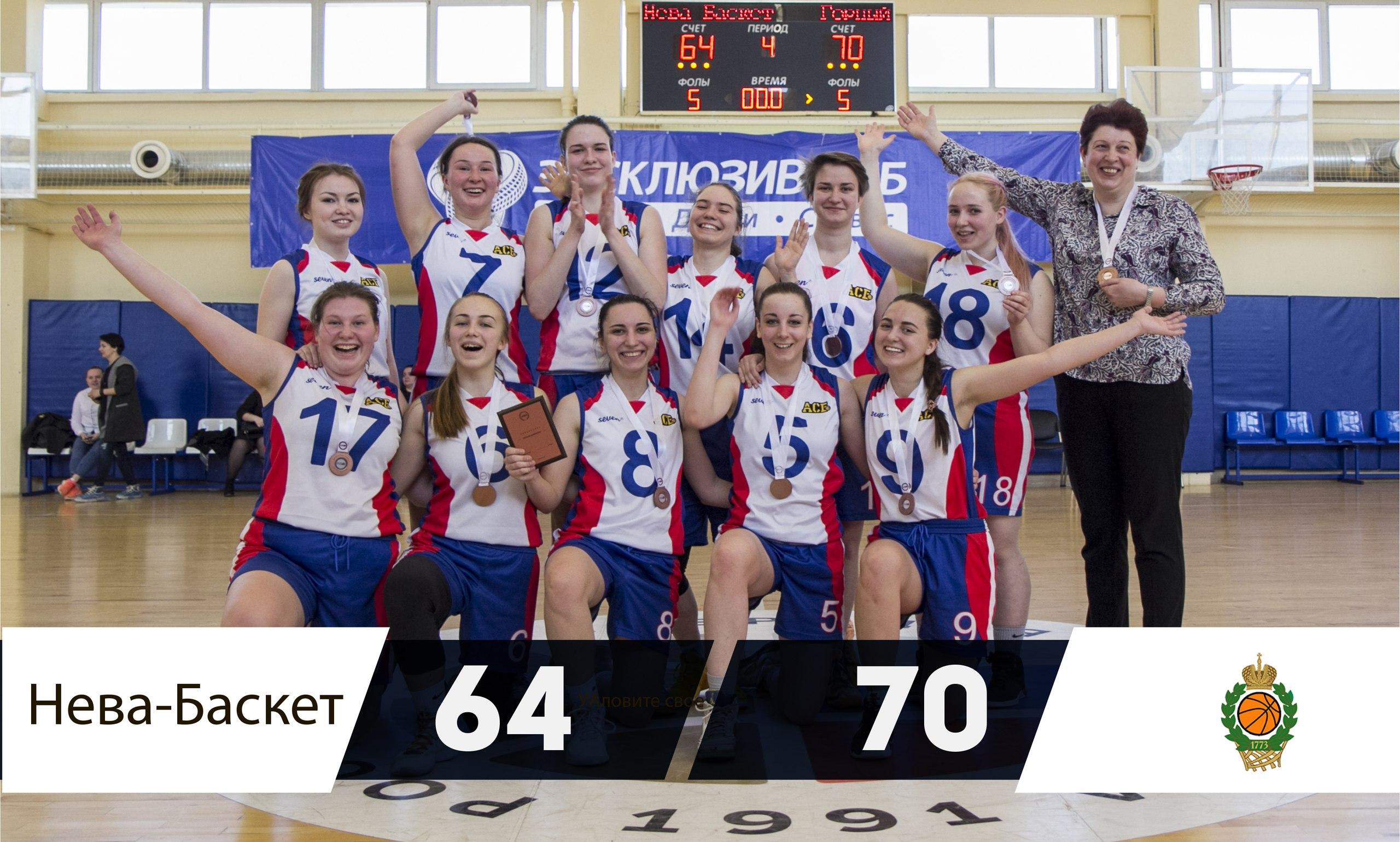 Горный университет - Бронзовый призёр Первого Дивизиона Чемпионата Санкт-Петербурга 2018