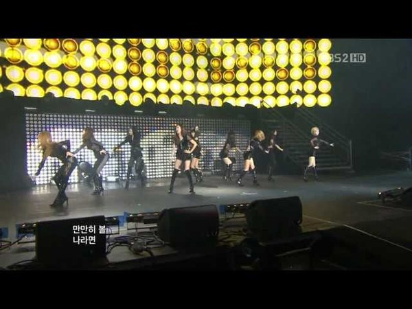SNSD - Mr. Taxi (Music Bank in Paris2012.02.18)