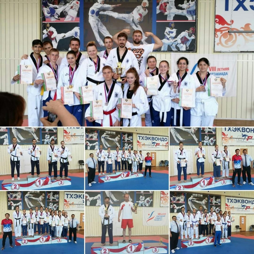 Таганрогские спортсмены показали хорошие результаты на Чемпионате России по спорту глухих тхэквондо