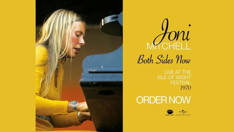 Joni Mitchell - Both Sides Now (1970, LIVE)
