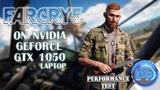 Far Cry 5 on GTX 1050 (laptop)「Benchmark」