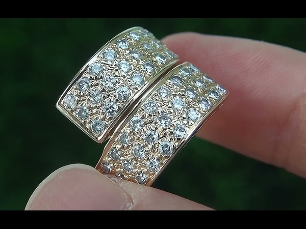 Certified Jewelry VS1F Natural Diamond Engagement Cocktail 14k Yellow Gold Ring - C667