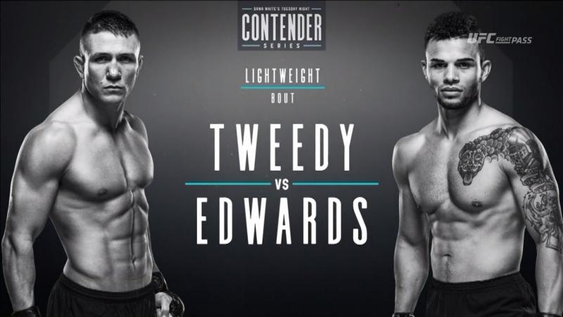 Dana White's Tuesday Night Contender Series S2E3: Austin Tweedy vs Te Edwards