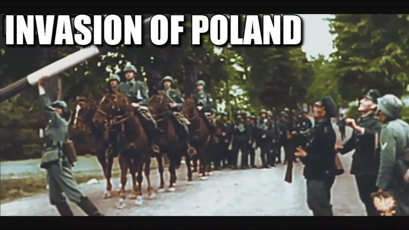 The Invasion of Poland - 1939 [HD COLOUR]