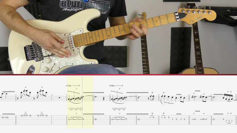 Joe Satriani - The Crush Of Love (Guitar Tutorial)