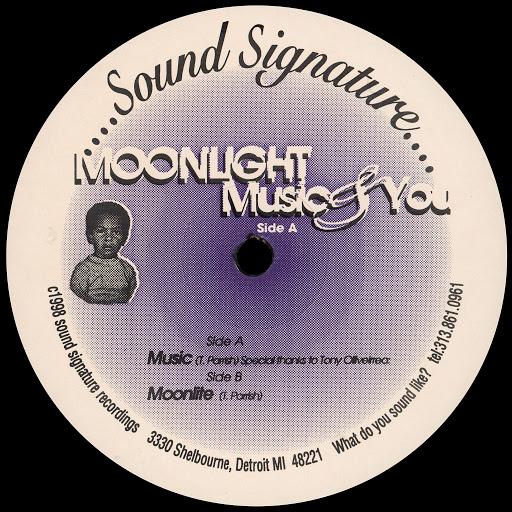 Theo Parrish альбом Moonlight Music & You
