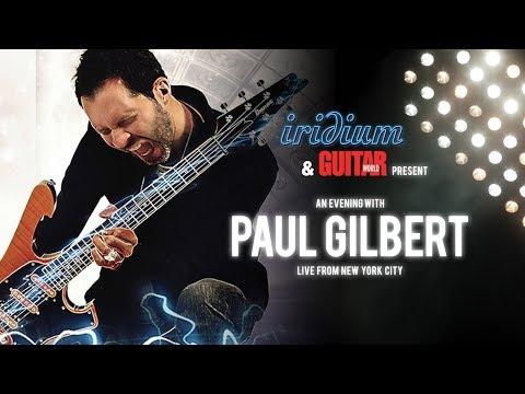 Paul Gilbert Live from The Iridium NYC 9.27.18