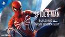 Building a New Spider-Suit - Inside Marvel's Spider-Man PS4