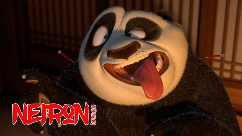 Неуклюжая жирная панда!
