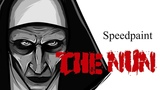 Speedpaint - МонахиняThe Nun ( Paint tool sai )