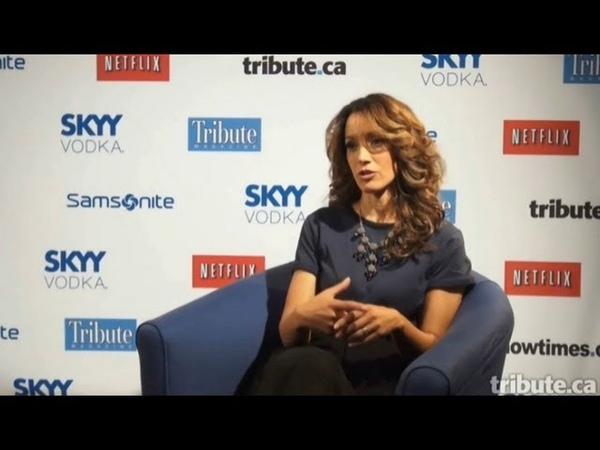Jennifer Beals - Interview Cinemanovels TIFF13 (September 2013)