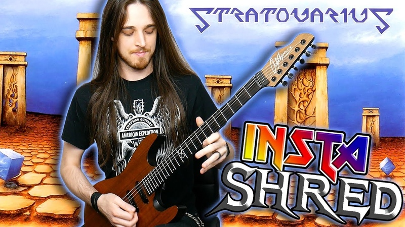 How To Play Stratovarius Stratosphere Intro!