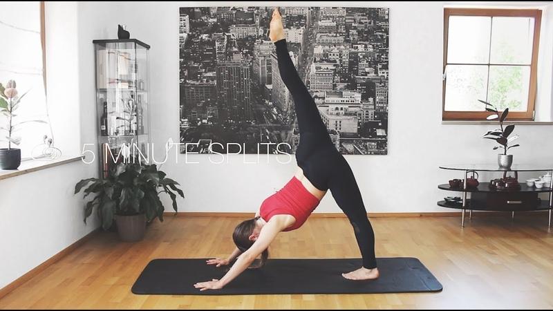 5 минутные шпагаты Несколько легких шагов для увеличения гибкости 5 Minute Splits ❤ Few Easy Steps To Increase Flexibility