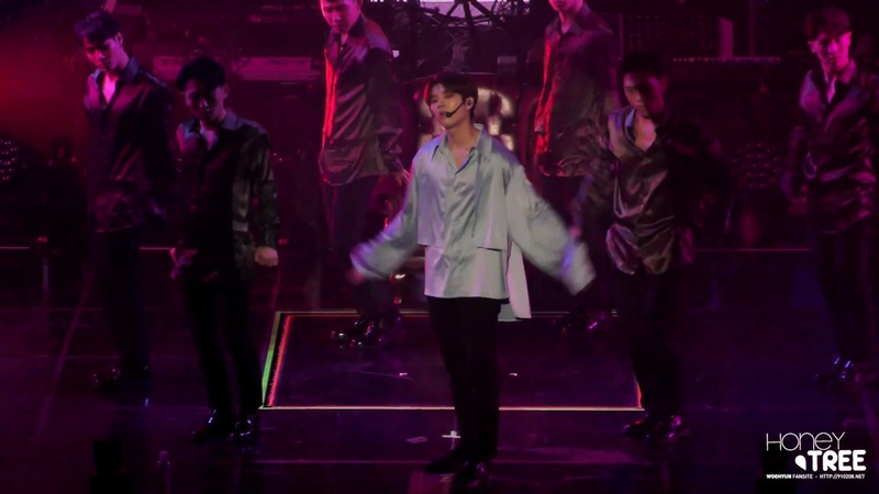 181103 NAMWOOHYUN 1st solo concert 식목일 - I Swear 우현 4K FOCUS