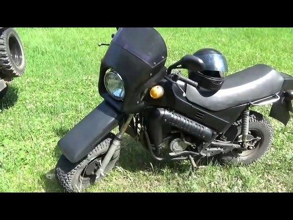 Луаз и мотоцикл Тула!