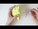 DIY. Как сшить Милого кота. Симпатичный подарок.
