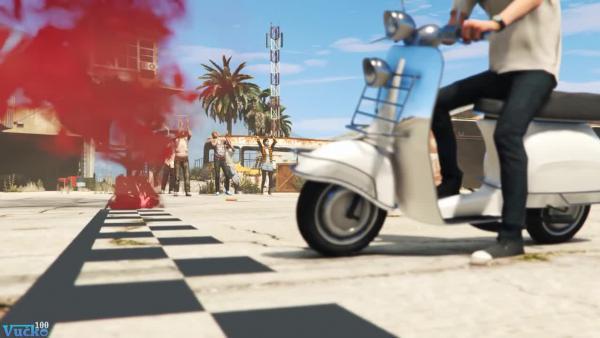 GTA 5 Толстый против тощего NPC ч.2
