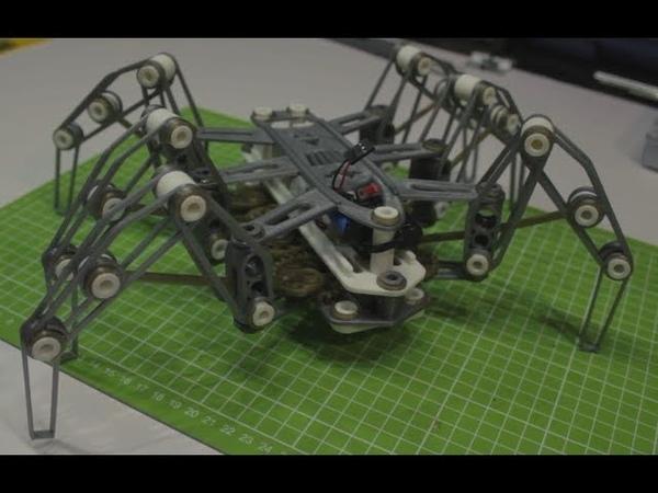 Шагающий паук на 3D принтере   Spider Rover